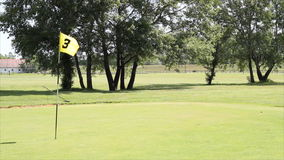 高尔夫球黄旗 股票录像