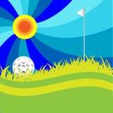 高尔夫球 向量例证