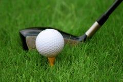 高尔夫球 库存图片