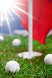 高尔夫球! 免版税库存照片