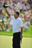 高尔夫球kenny纪念犁酒比赛胜利 库存图片