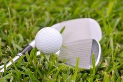 高尔夫用品 免版税库存照片