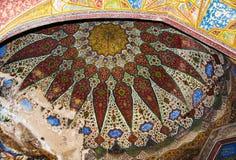 高尚的伊斯兰教的艺术品 免版税库存图片