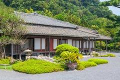 高尚的住所在Senganen庭院里 库存照片