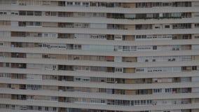 高层住宅房子在阿利坎特,西班牙 影视素材