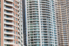 高层住宅,布里斯班,澳大利亚 免版税库存照片