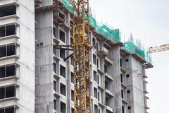 高层住宅建筑技术  库存图片