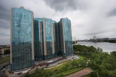 高层住宅 免版税库存图片