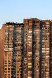 高层居民住房在开罗 库存照片