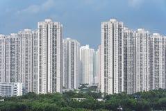 高层居民住房 免版税库存图片