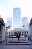 高层建筑在伦敦 库存照片