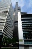 高层建筑在芝加哥 图库摄影