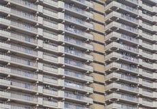 高层现代大厦样式和背景 库存照片