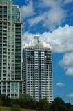 高层的公寓 免版税图库摄影