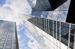 高层的大厦 免版税图库摄影