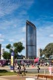 高层建筑物在布里斯班 免版税库存照片