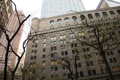 高层建筑物在纽约。 图库摄影