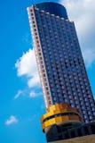 高层建筑物在街市休斯敦 免版税图库摄影