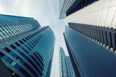 高层建筑物在马卡蒂 免版税库存照片