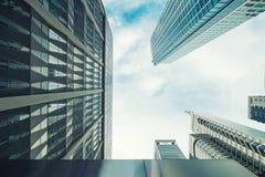 高层建筑物在马卡蒂 免版税库存图片