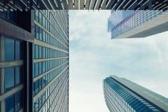 高层建筑物在马卡蒂 免版税图库摄影