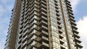 高层建筑物的行动 股票视频