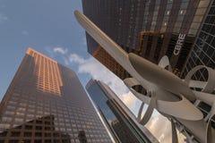 高层建筑物(L A ) 免版税库存照片