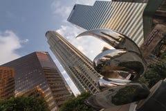 高层建筑物(L A ) 免版税库存图片