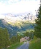 高山全景, Val - d ' aosta 库存图片