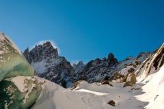 高山冰川 库存图片