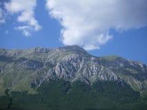高山在意大利 免版税图库摄影