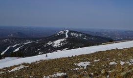 高山在西伯利亚 库存图片