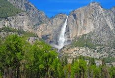 高山场面在优胜美地国家公园,内华达山山,加利福尼亚 库存图片
