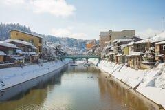 高山市古城在日本 免版税库存图片