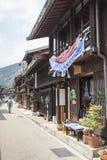 高山市,日本- 5月03 :Sannomachi的Stre未认出的人 免版税库存照片