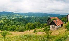 高山斯洛伐克tatras 图库摄影