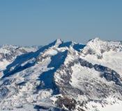 高山横向 库存照片