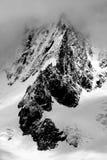 高山横向 免版税库存图片