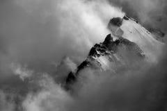 高山横向 图库摄影