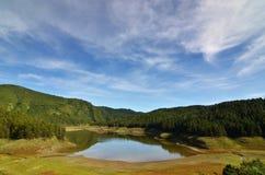 高山湖 图库摄影