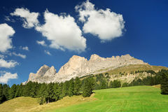 高山牧场地 库存图片