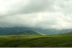 高山牧场地 免版税库存图片
