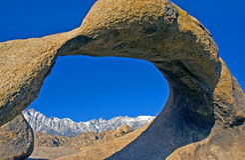 高山脉 库存照片