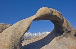 高山脉 库存图片