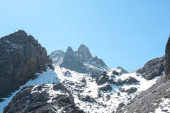 高山范围 图库摄影