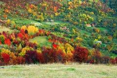 高山风景在国家公园Retezat 库存照片