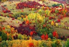 高山风景在国家公园Retezat 免版税库存图片