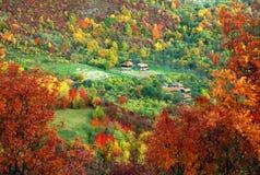 高山风景在国家公园Retezat 免版税图库摄影