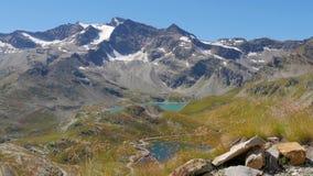 高山风景在夏天4k 影视素材