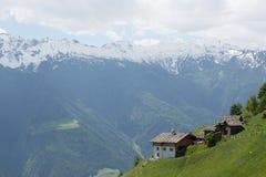 高山风景-意大利 免版税库存图片